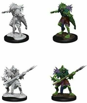 D&D Nolzur's Marvelous Miniatures - Sahuagin (2 Miniature)