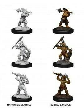 D&D Nolzur's Marvelous Miniatures - Goblins & Goblin Boss (3 Miniature)