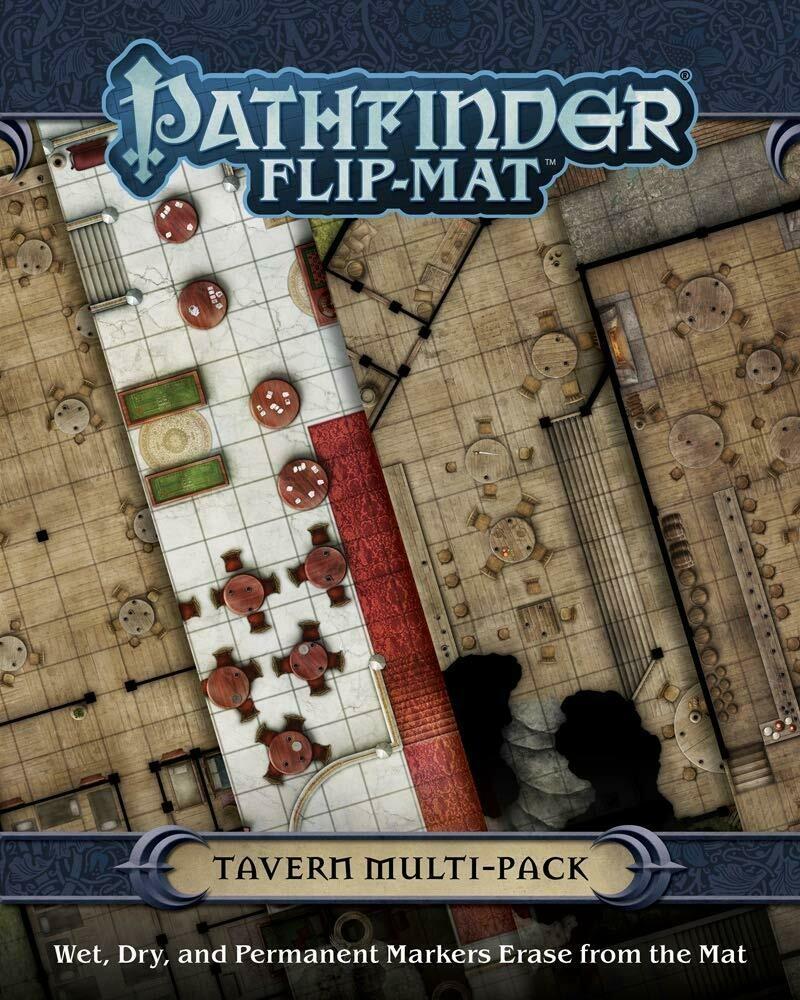 Pathfinder Flip Mat (Map) multi pack - Tavern