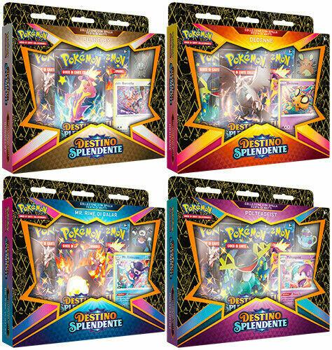 Pokemon Spada e Scudo 4.5 Destino Splendente - Festa di Matti