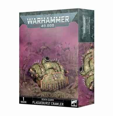 Warhammer 40000: Death Guard - Plagueburst Crawler (Cingolato spramorbi)
