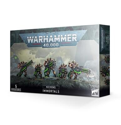 Warhammer 40000: Necrons - Immortali