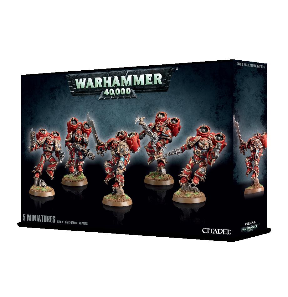 Warhammer 40000: Chaos Space Marines Raptors