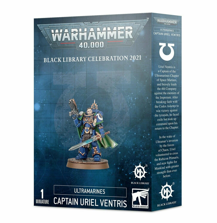 Warhammer 40.000 - Captain Uriel Ventris - Ultramarines (Black Library Celebration 2021)