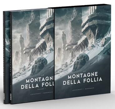 Le Montagne della Follia - Illustrato da François Baranger