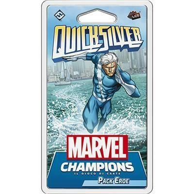 Marvel Champions - Quicksilver (Pack Eroe)