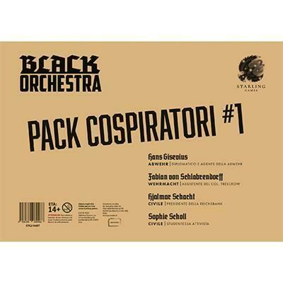 Black Orchestra - Pack Cospiratori 1