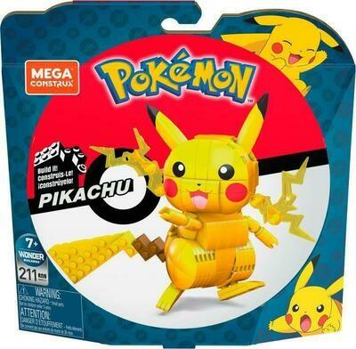 MATTEL Mega Construx Pokémon Medium Pikachu