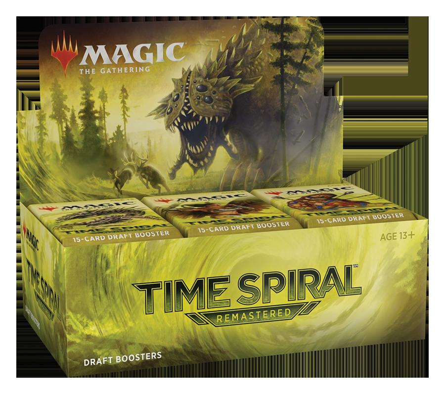 Spirale Temporale Remastered Bustina Draft ITA - Magic: the Gathering