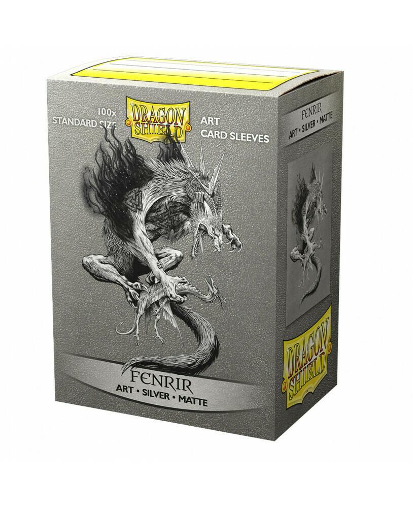 Dragon Shield 100 Sleeves - Matte Art Fenrir