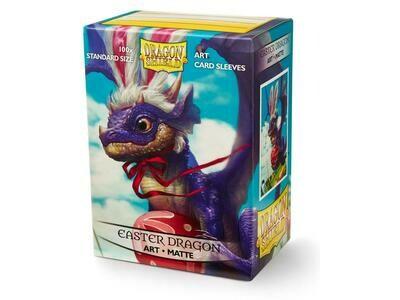 Dragon Shield 100 Sleeves - Matte Art Easter Dragon 2021