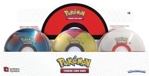 Pokemon Tin Poke Ball 2021