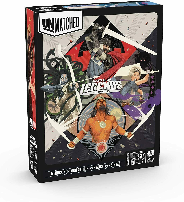 Unmatched - Battle of Legends Vol.1