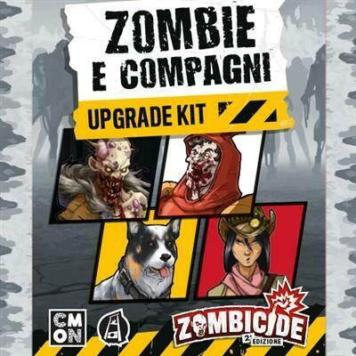 Zombicide - Seconda Ed. Zombies & Companions Upgrade Kit