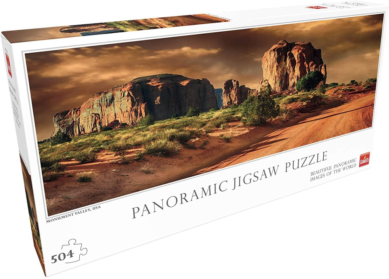 Puzzle Monument Valley 504p