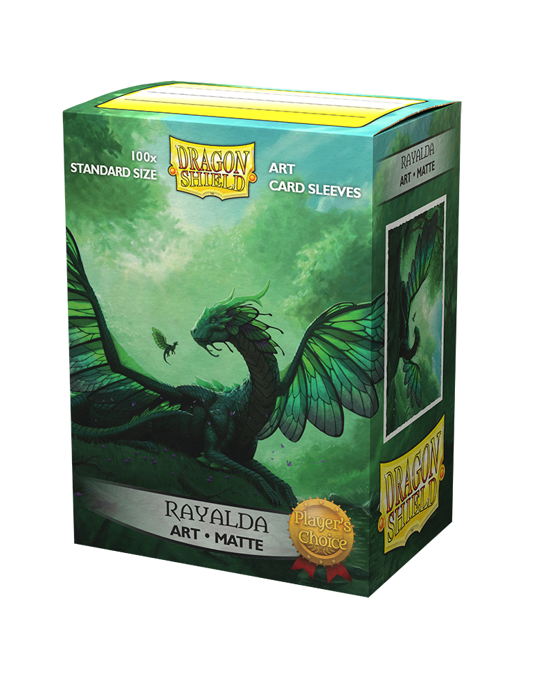 Dragon Shield 100 Sleeves - Art - Rayalda