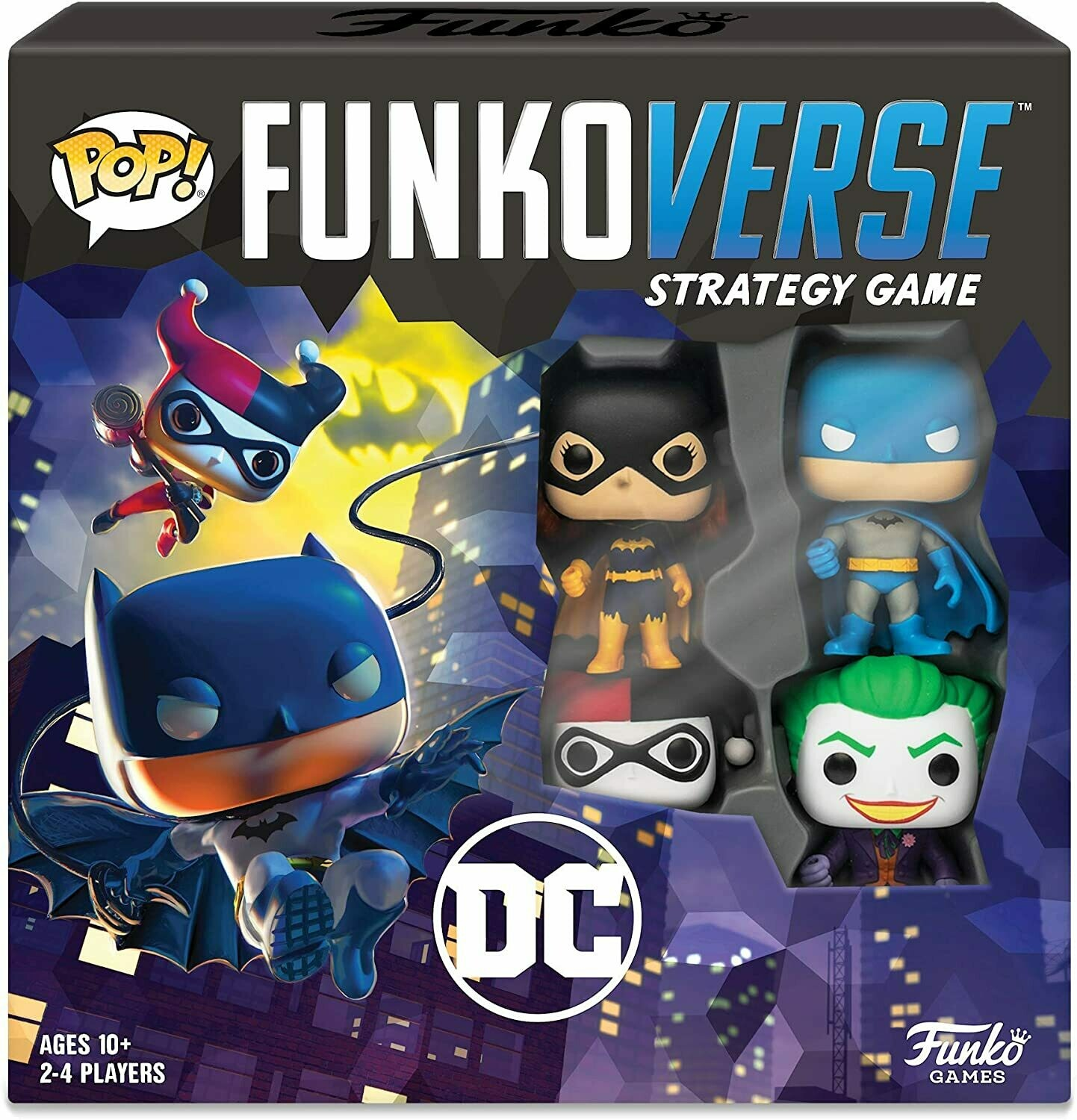 POP Funkoverse - DC Comics - base set (ENG)