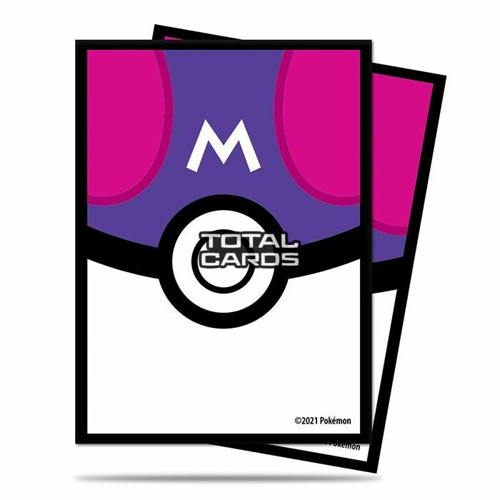 Pokemon Master Ball Sleeves 65 Sleeves