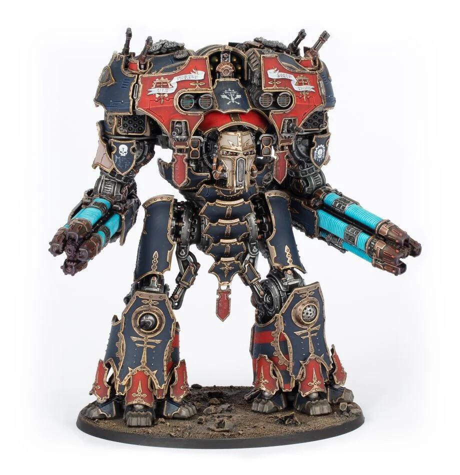 Warhammer 40000: Adeptus Titanicus Warmaster Heavy Battle Titan
