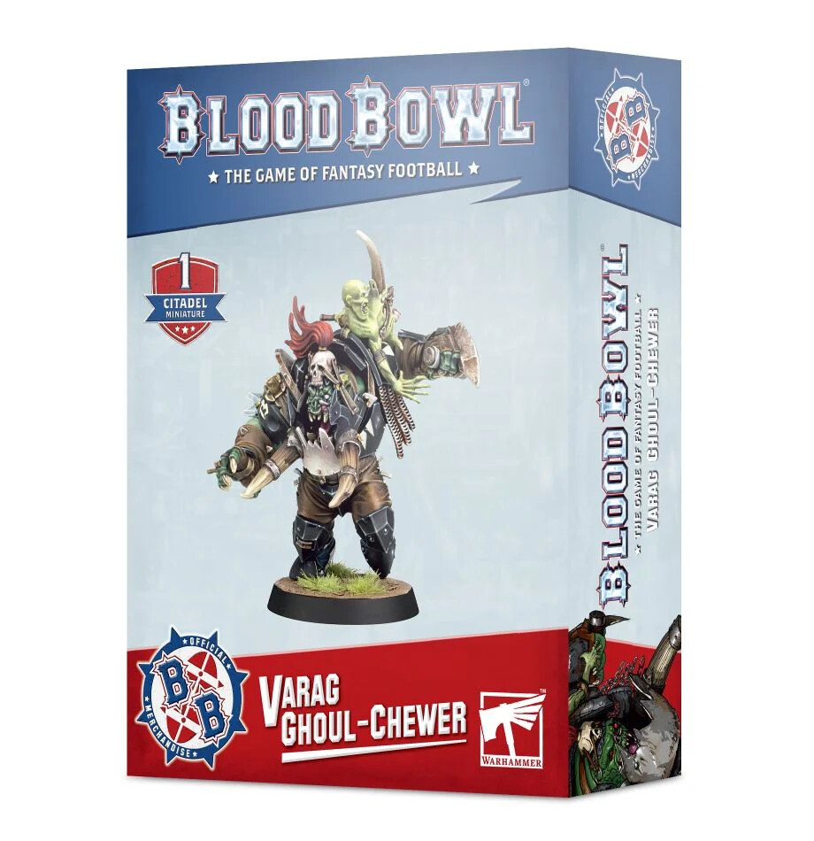 Blood Bowl - Varag Ghoul-Chewer (ENG)