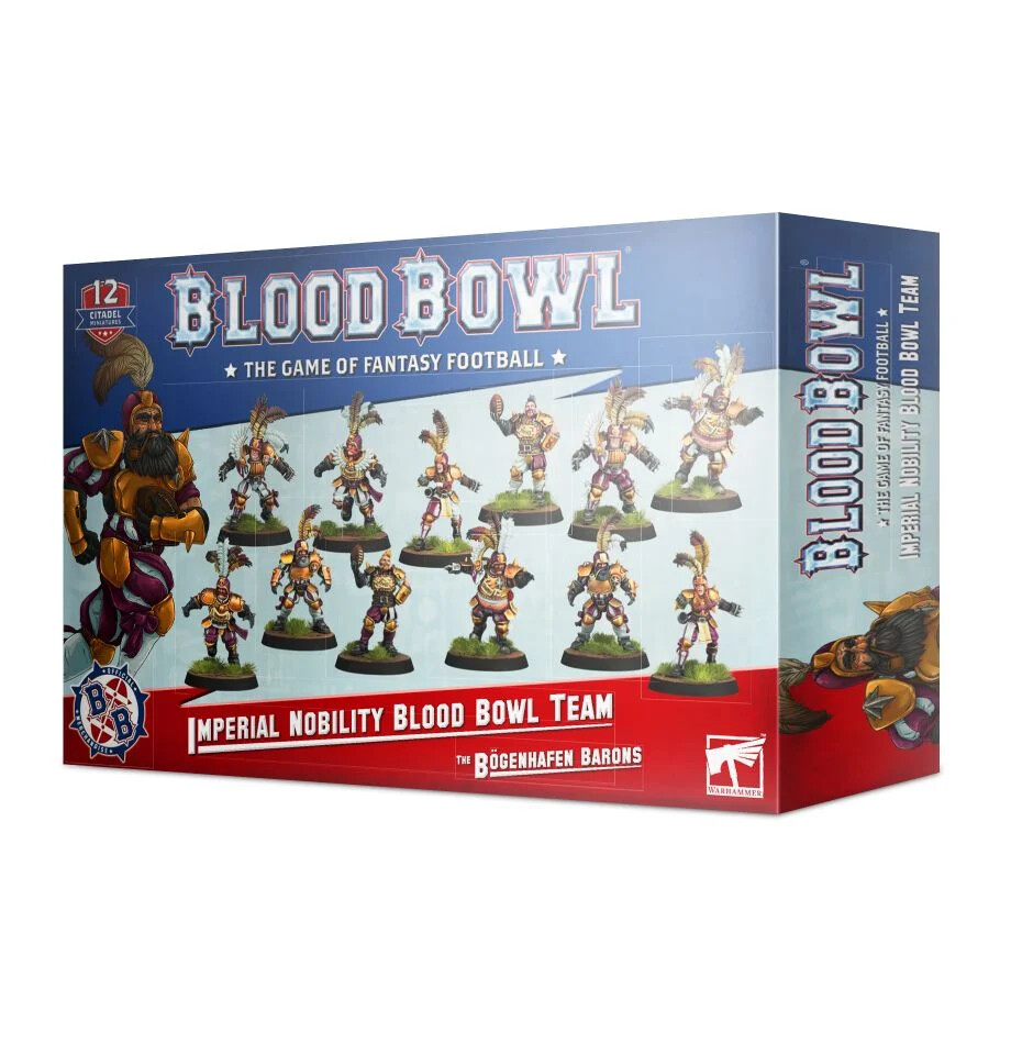 Blood Bowl - Imperial Nobility Team (ENG)
