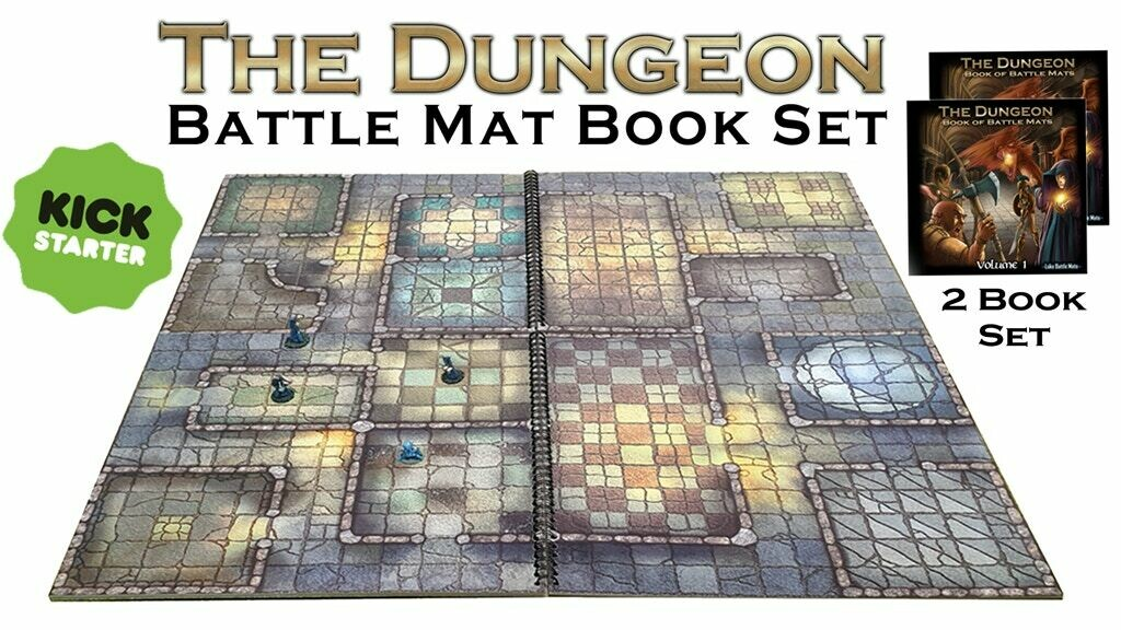 The Dungeon Book of Battle Maps