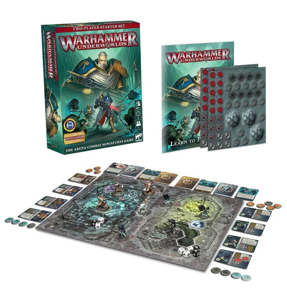 Warhammer Underworlds: Starter Set - Set introduttivo per 2 giocatori