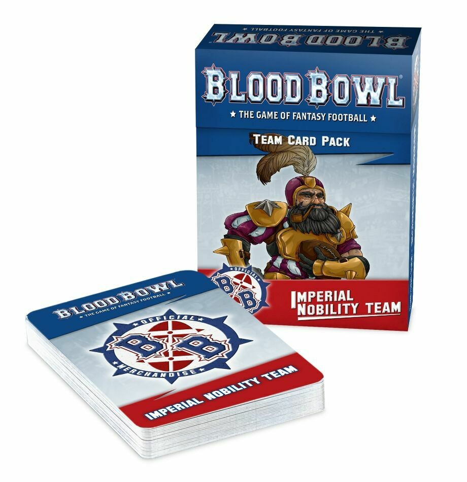 Blood Bowl - Imperial Nobility Team Card Pack (ENG)