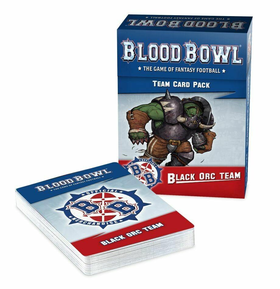 Blood Bowl - Black Orc Team Card Pack (ENG)