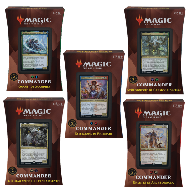 Strixhaven Mazzo Commander ITA - Magic: the Gathering