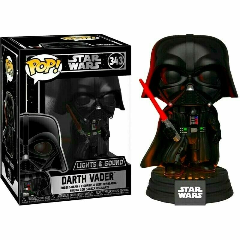 POP Funko - Darth Vader Electronic With lights and sound!