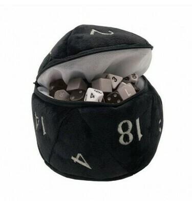 D20 Plush Dice Bag