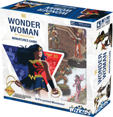 Wonder Woman 80th Anniversary Starter Game - Heroclix