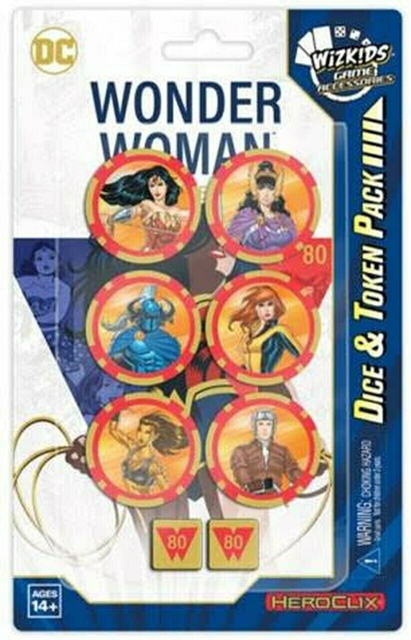 Wonder Woman 80th Anniversary Dice & Token - Heroclix