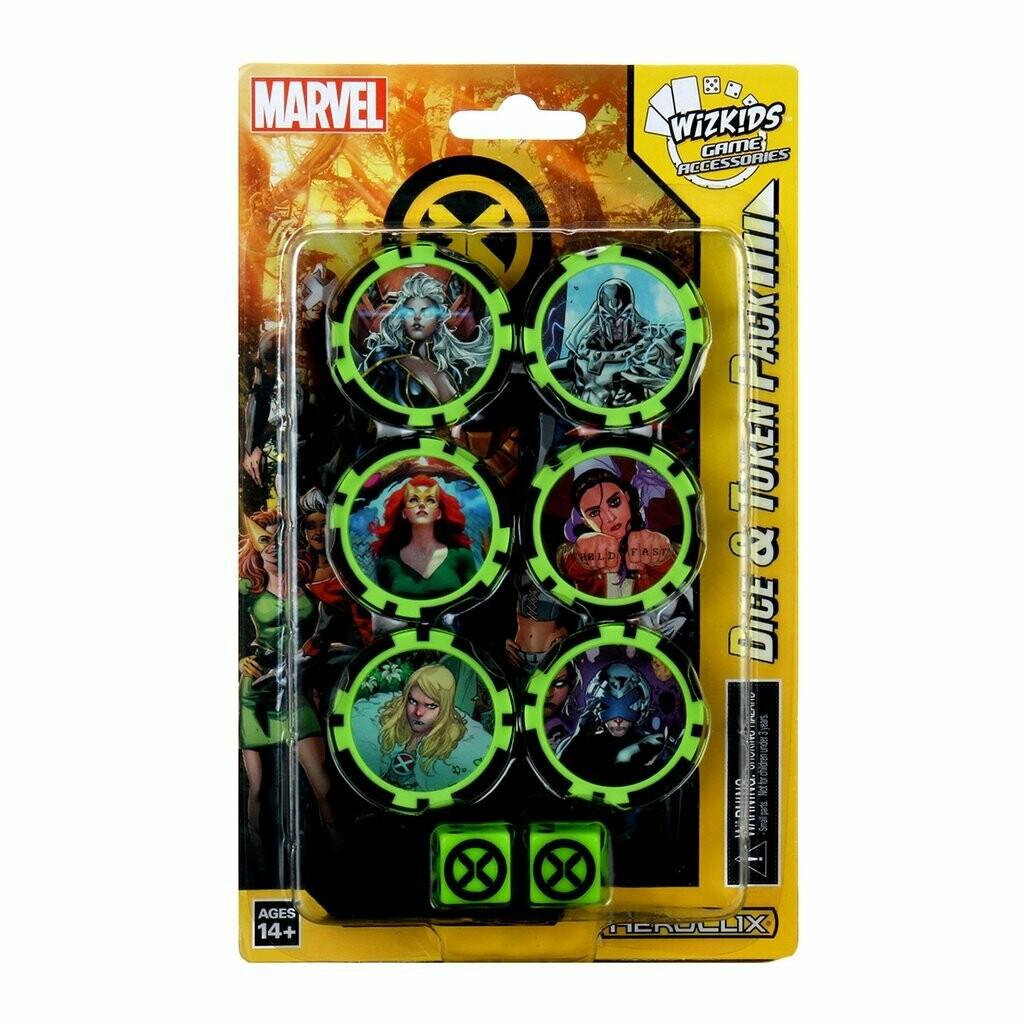 HeroClix: X-men house of X Dice & Token