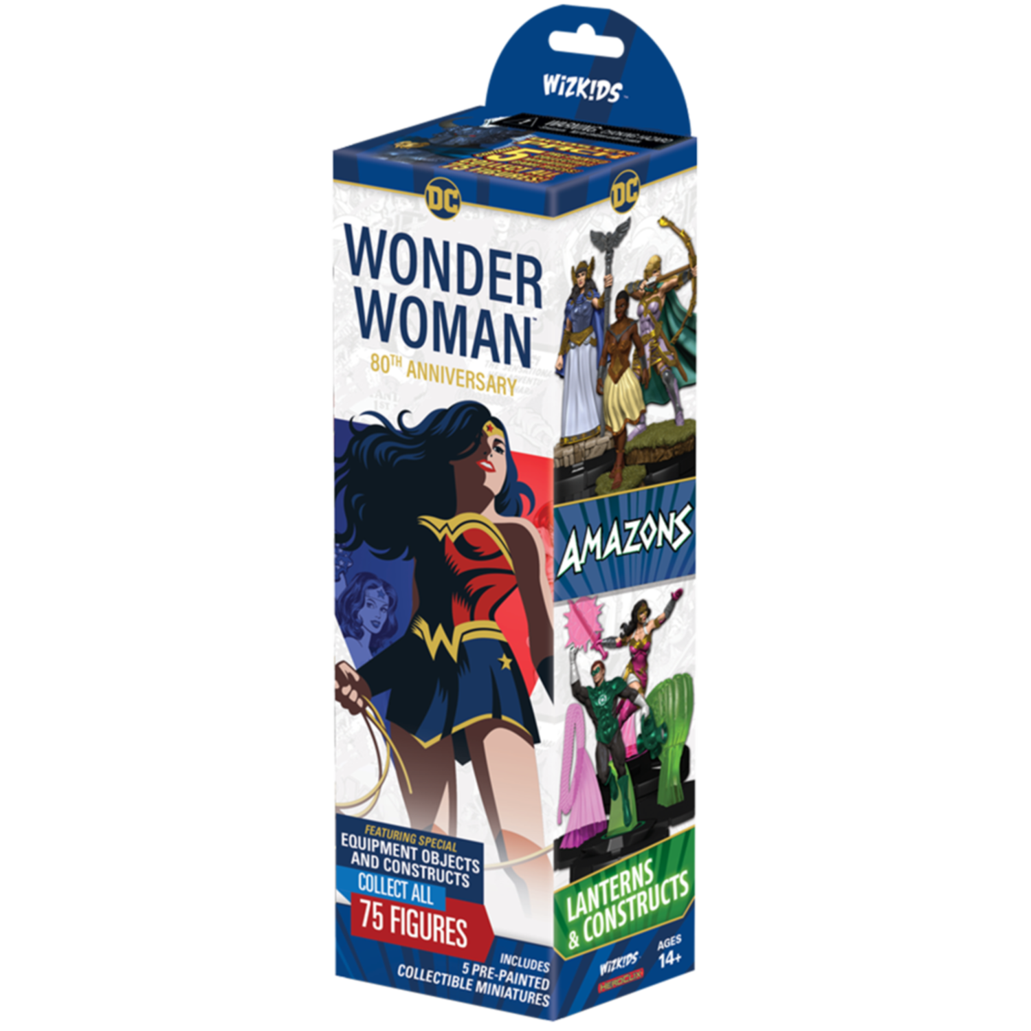 Wonder Woman 80th Anniversary Booster - Heroclix