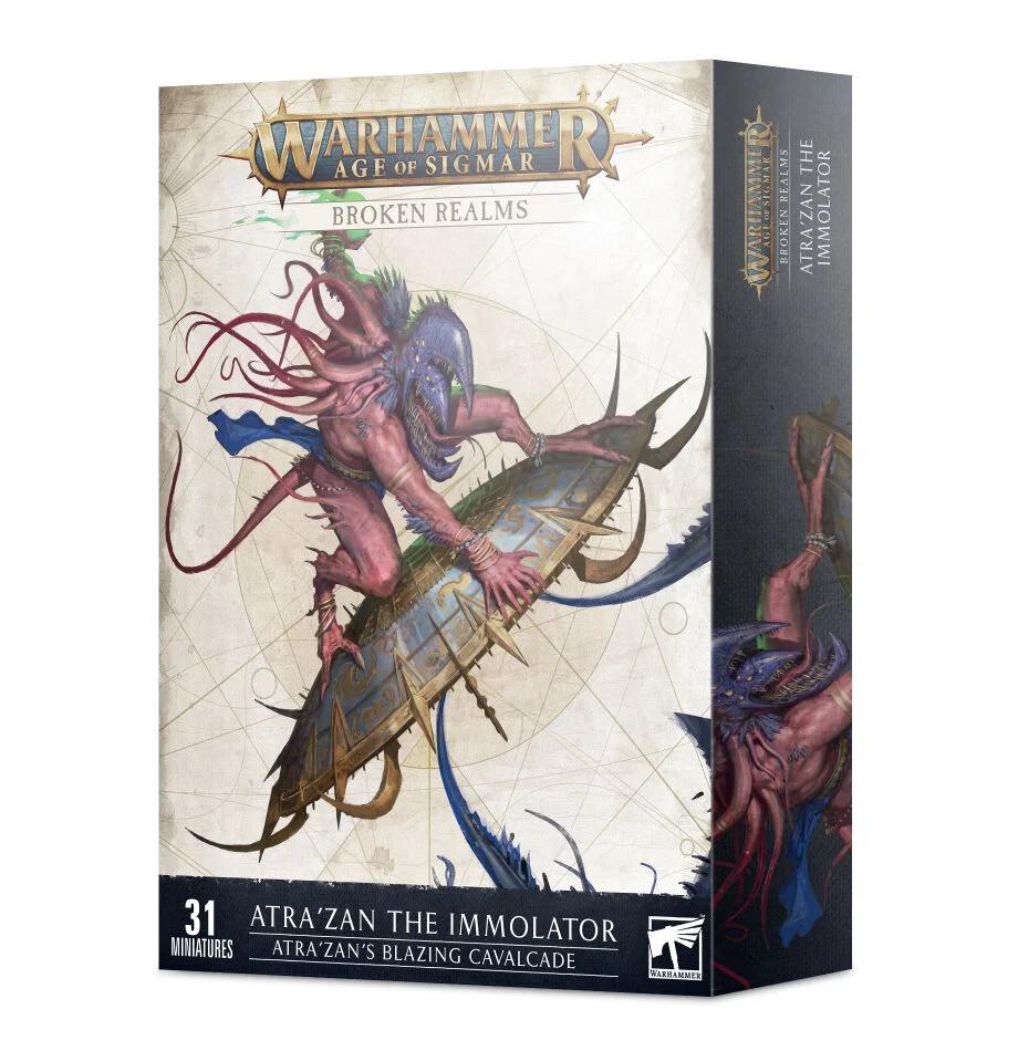 Warhammer Age of Sigmar: Broken Realms - Atra'Zan's Blazing Cavalcade