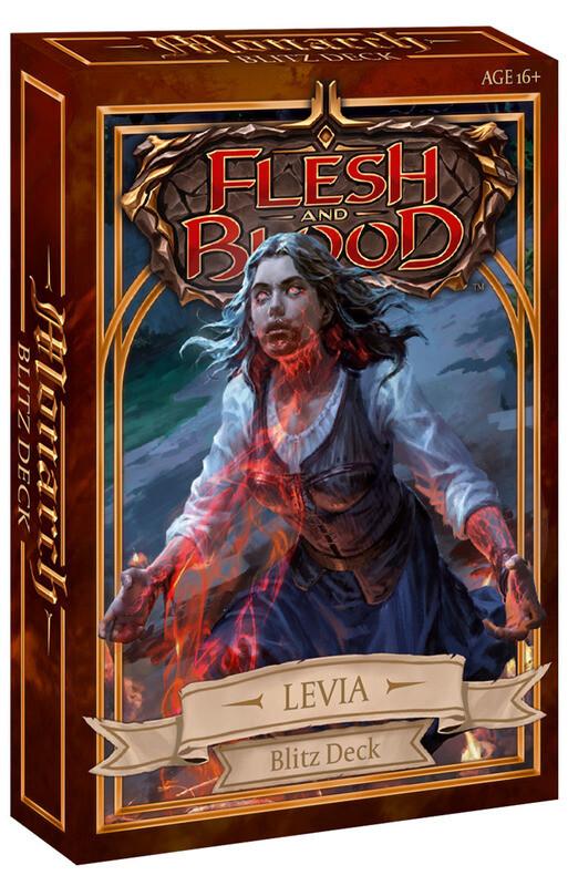 Flesh & Blood TCG - Monarch Blitz Deck - Levia