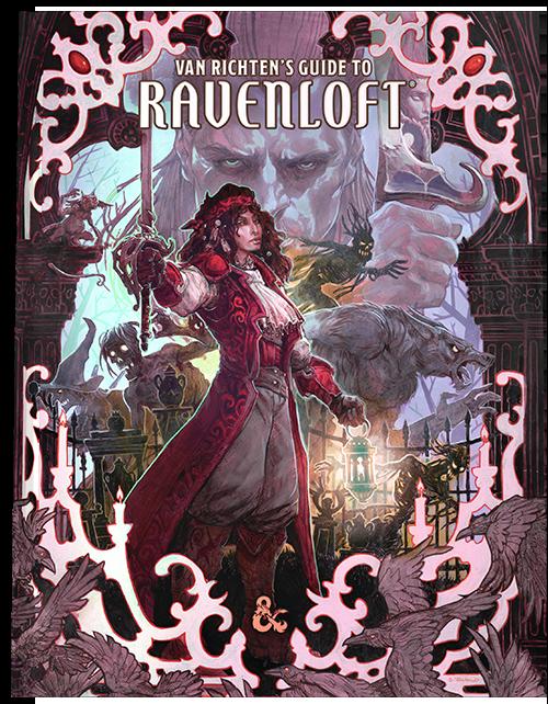D&D Van Richten's Guide to Ravenloft  - Quinta Ed. Ed Limitata ENG