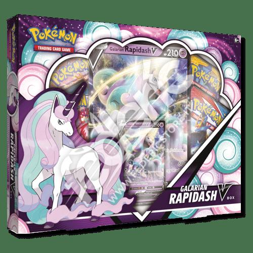 Pokemon Collezione Rapidash di Galar-V