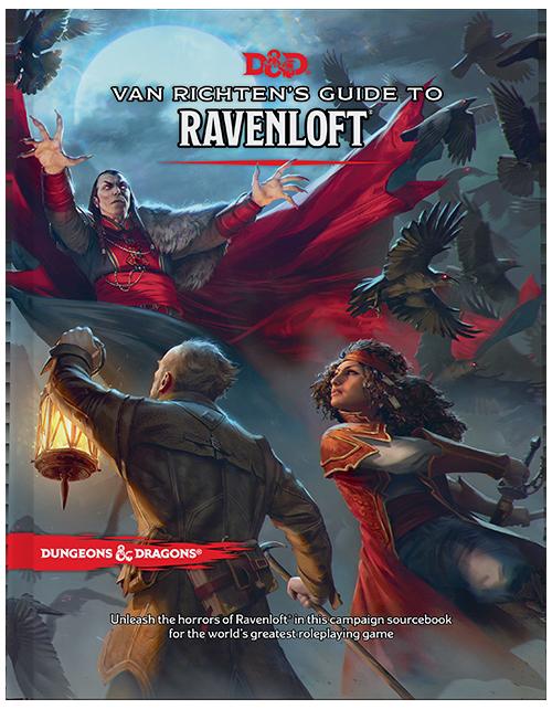 D&D Van Richten's Guide to Ravenloft  - Quinta Ed. ENG