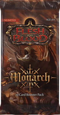 Flesh & Blood TCG - Monarch Booster (Unlimited)