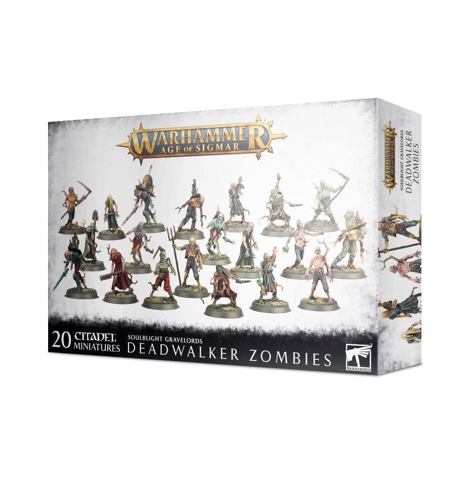 Warhammer Age of Sigmar: Deadwalker Zombies
