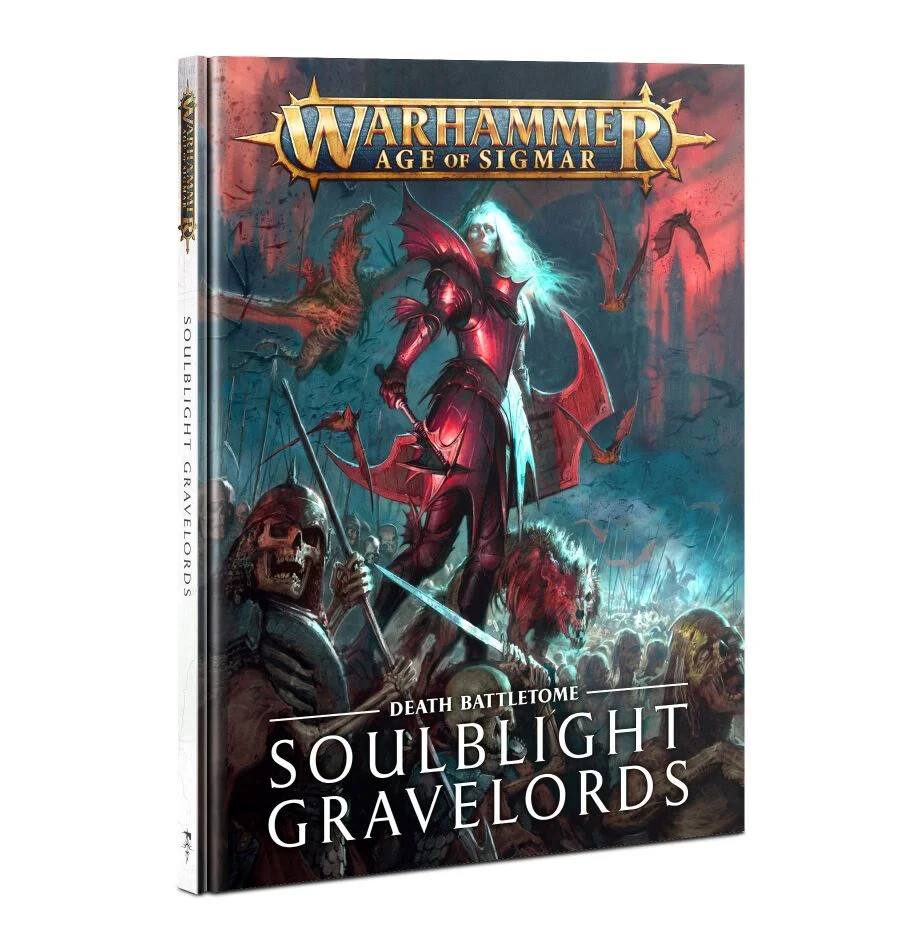 Warhammer Age of Sigmar - Battletome: Soulblight Gravelords Italiano