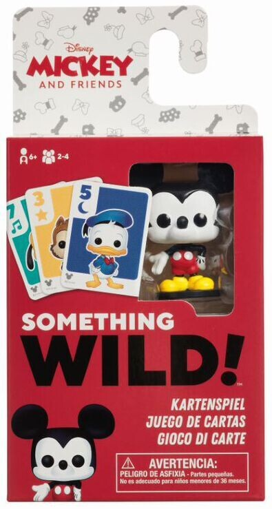 Something Wild Card Game - Mickey & Friends (ENG)
