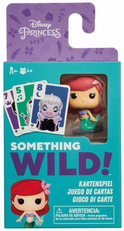 Something Wild Card Game - The Little Mermaid (ENG)