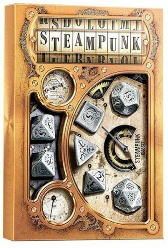 Steampunk Metal Dice Set