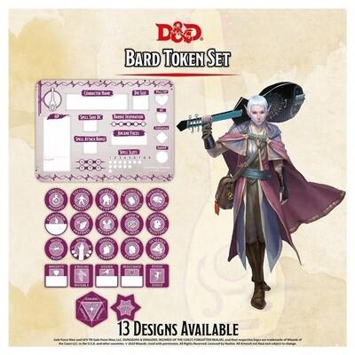 D&D - Bard Token Set