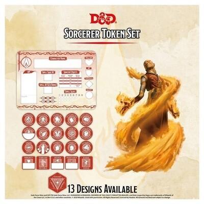 D&D - Sorcerer Token Set