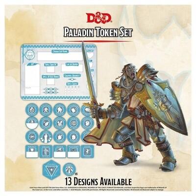 D&D - Paladin Token Set
